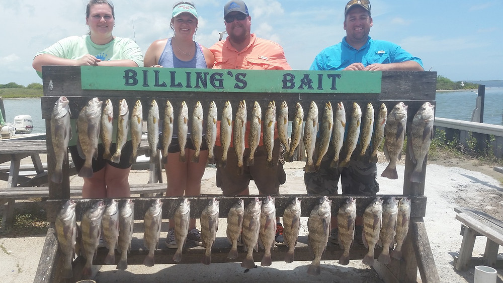 Black Drum & Trout Limits Fishing Guide Corpus