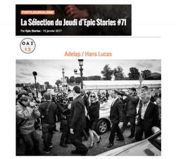 La sélection du jeudi d'Epic-Stories