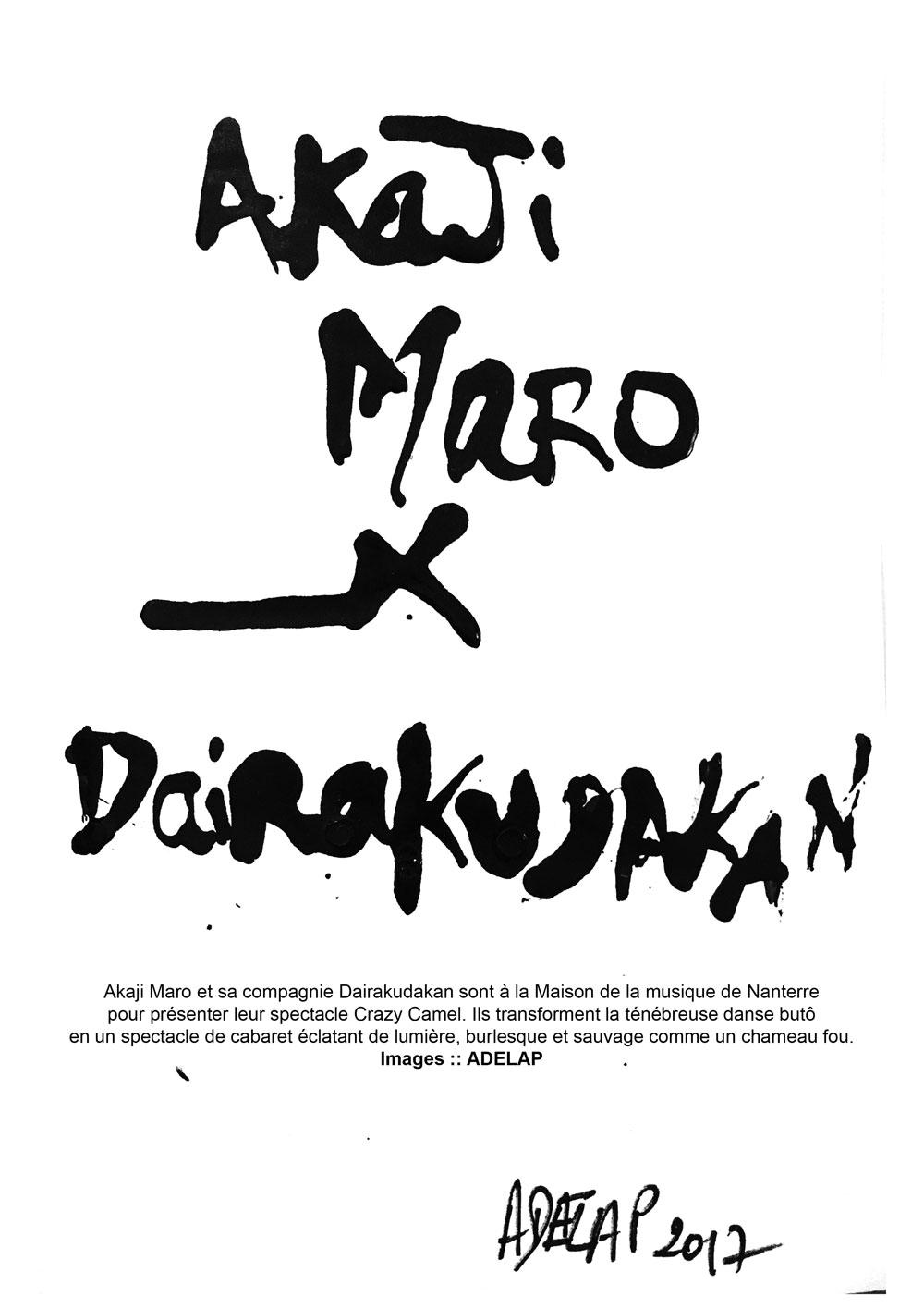 Akaji Maro et Dairakudan