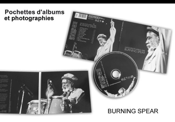 POCHETTE ET COM BURNING SPEAR