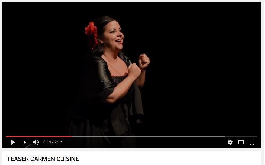 vidéo CARMEN CUISINE