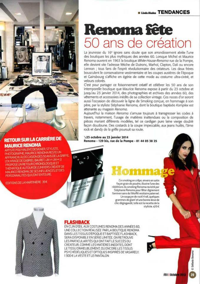 Renoma / Journal du XVIe