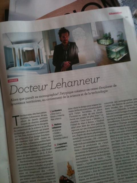 Mathieu Lehanneur / nouvel obs
