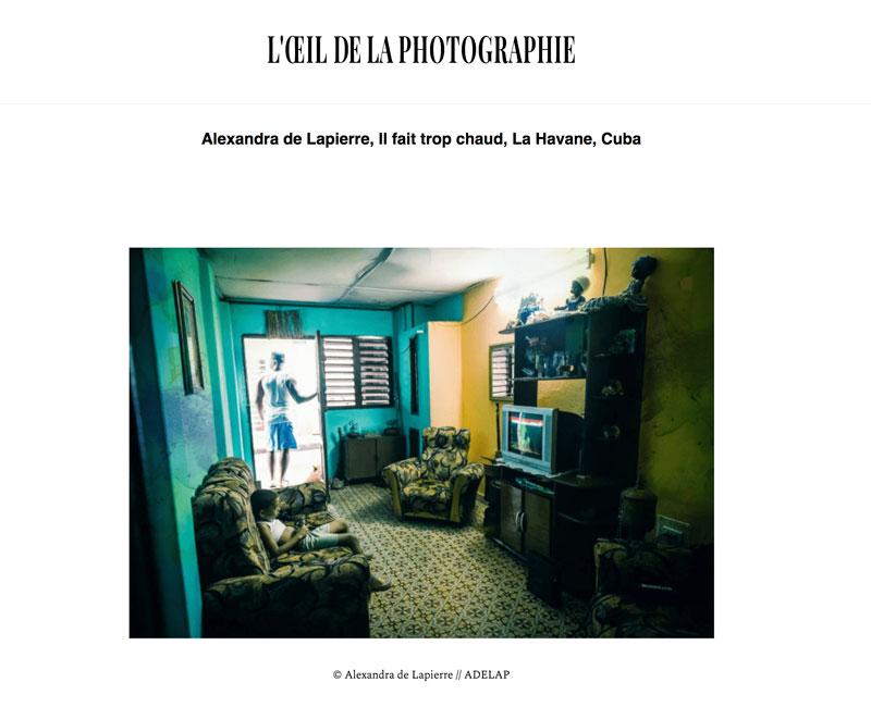 Cuba - L'œil de la photographie