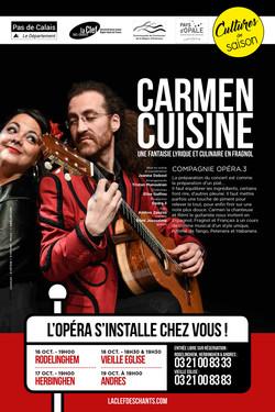 affiche Carmen Cuisine