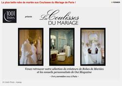 1001 Listes Les coulisses du Mariage