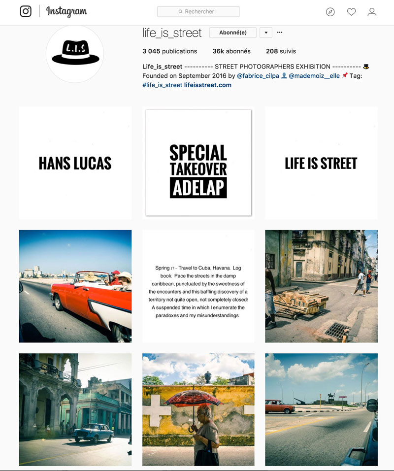 Instagram - Life is Street