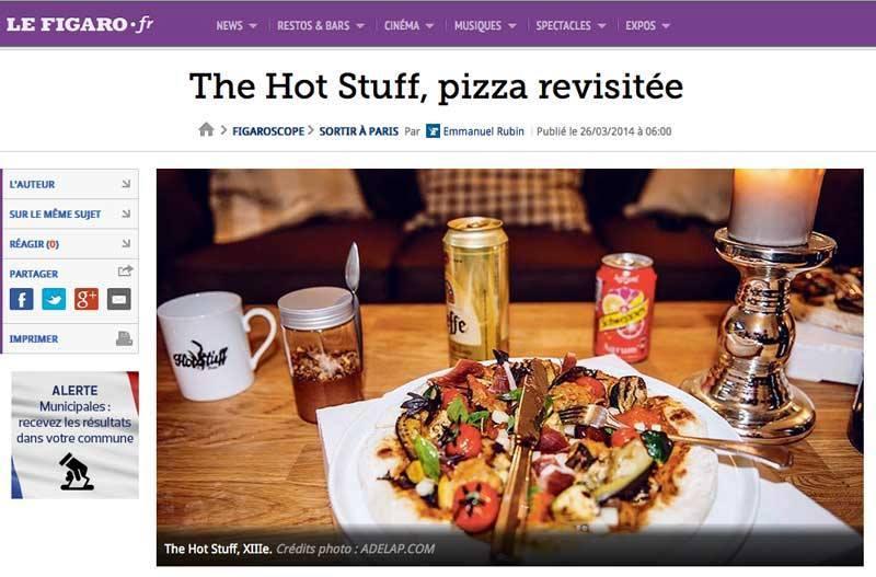 The Hot Stuff / Le Figaro