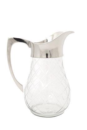 Gümüş Saplı Cam Sürahi