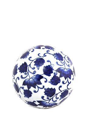 Bleu Blanc Dekoratif Top