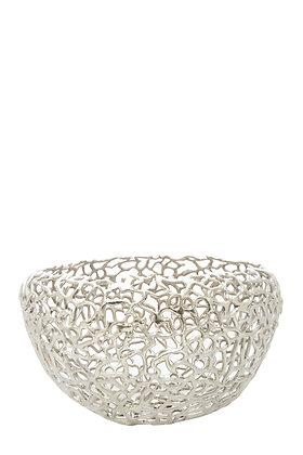 Gümüş Mercan Desenli Çanak