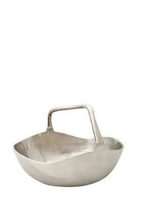 Gümüş Dekoratif Sepet Küçük Boy