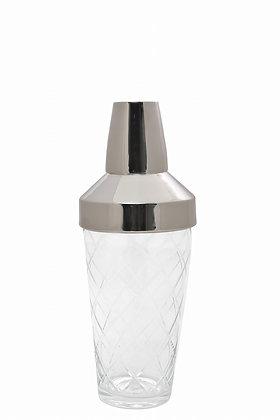 Gümüş Kapaklı Cam Shaker