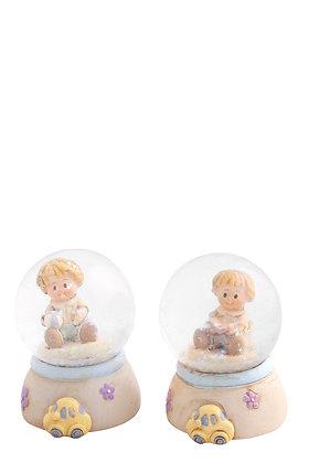 Erkek Çocuk Kar Küresi 2'li Set