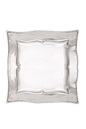 Gümüş Kare Tepsi