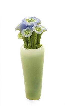 Mavi Çiçek Demeti Mum