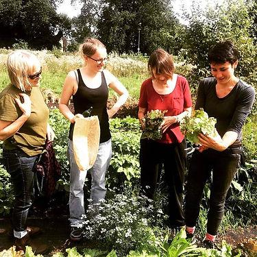 Growing food on Leith Links