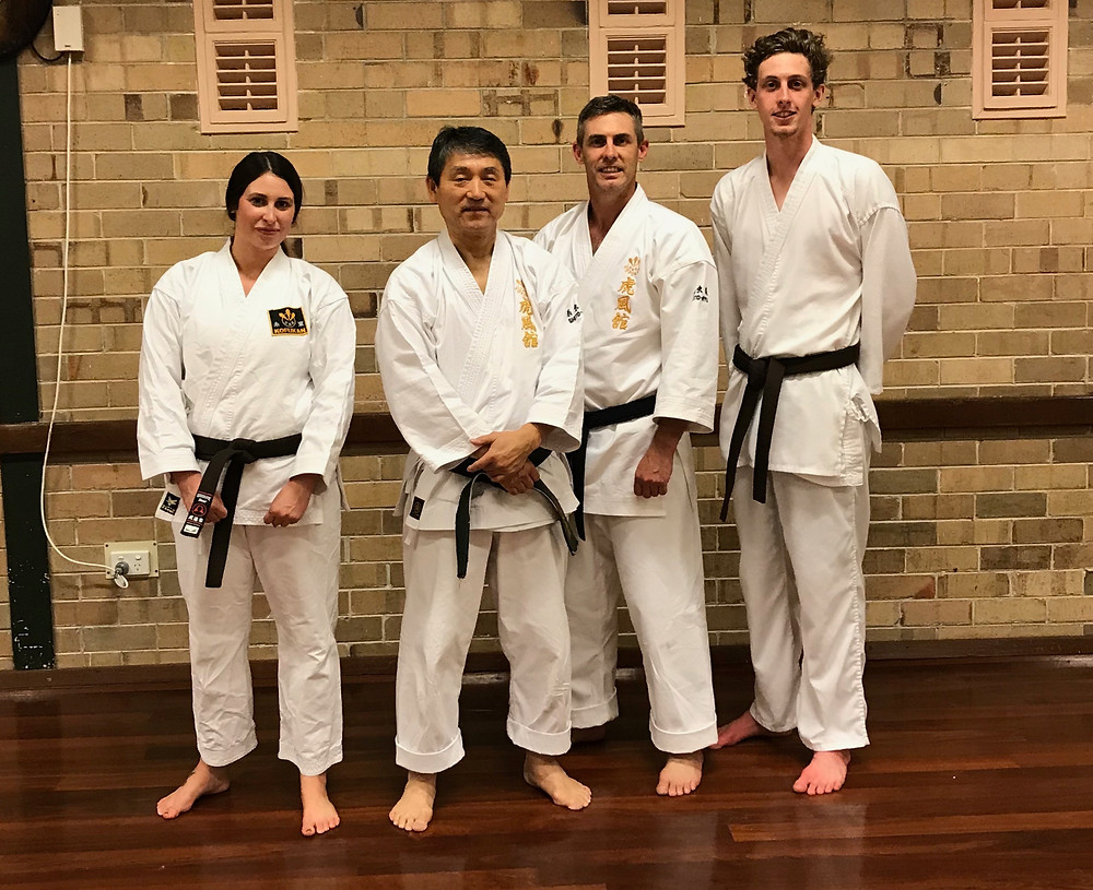Training with Shihan Tomiyama