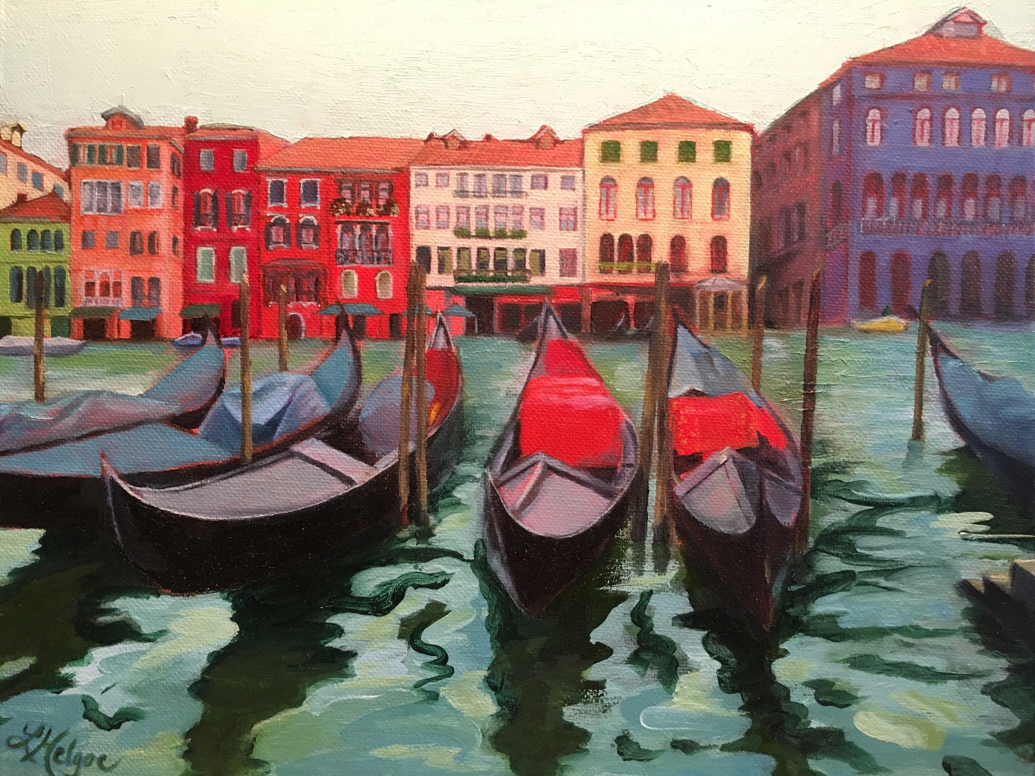 Venice in Technicolor