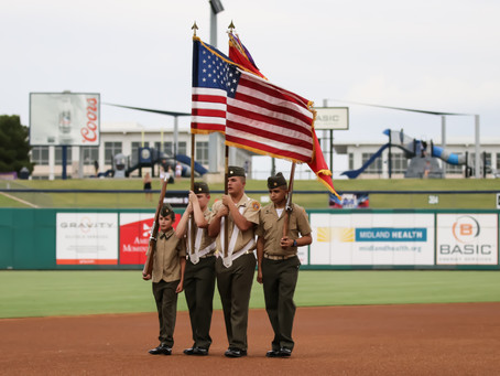 Rockhounds Honor the Military