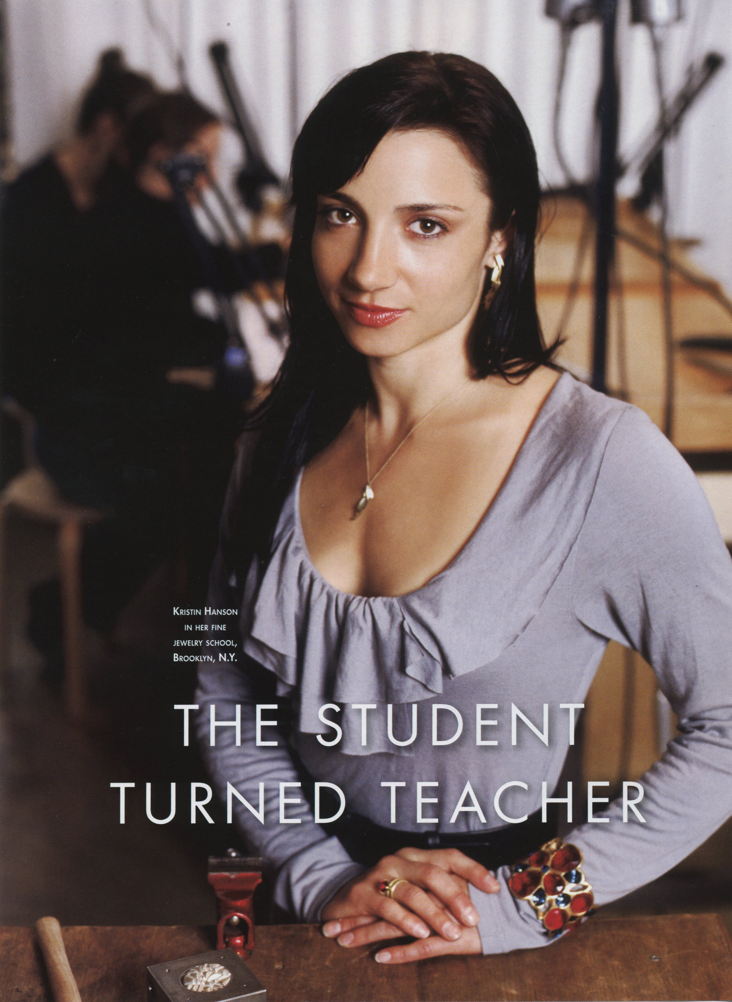 Student turned teacher
