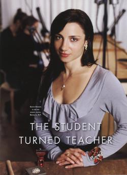 Student turned teacher