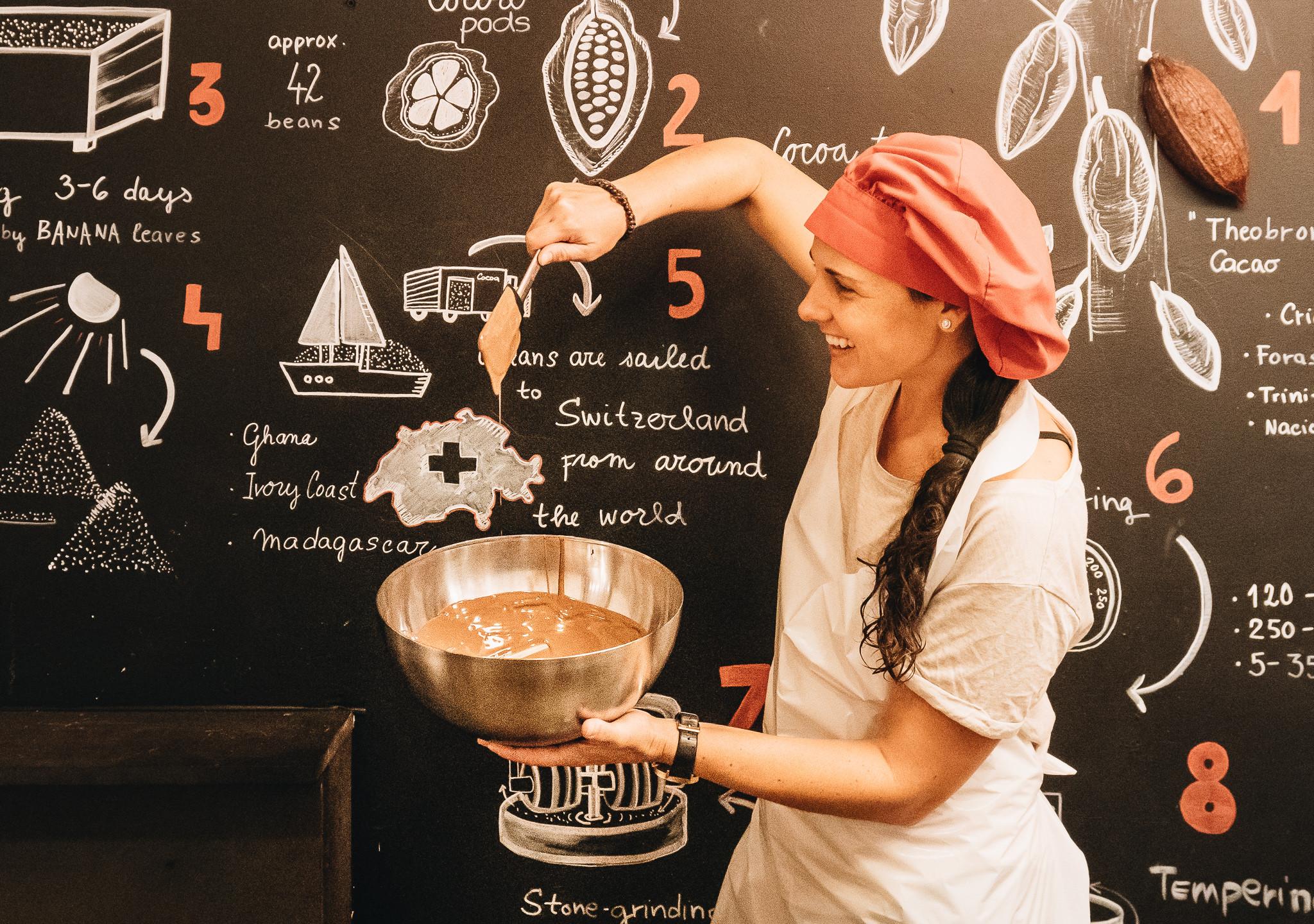 Chocolate Workshop Interlaken 1