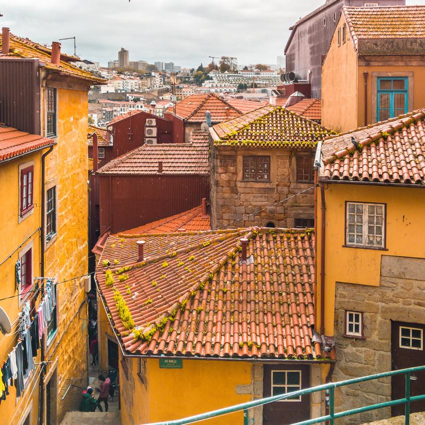 Colorful Houses of Porto
