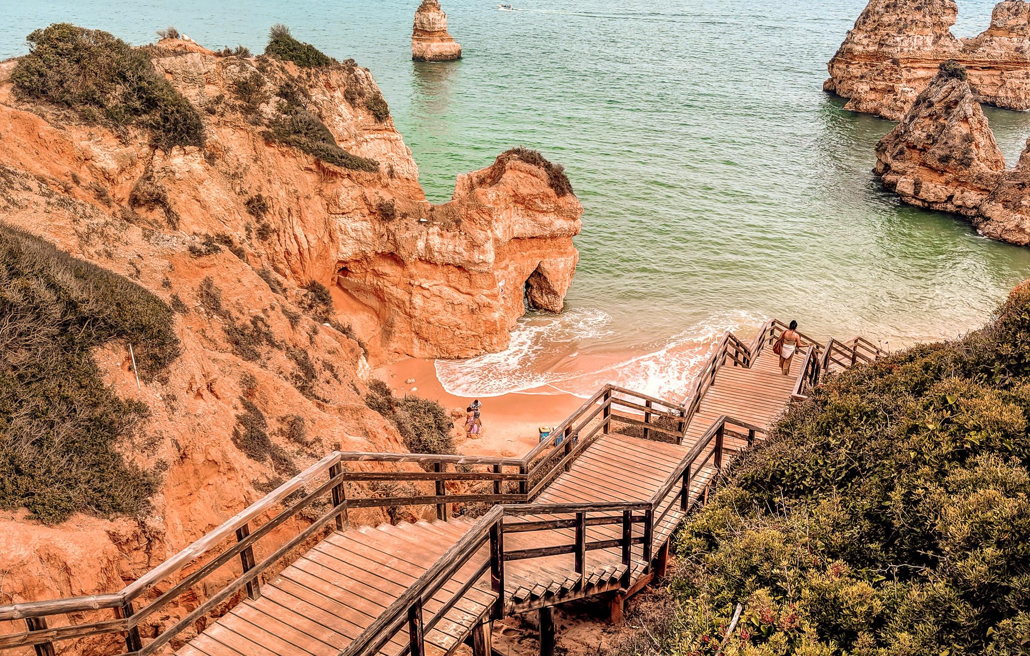 Praia do Camilo Stairs