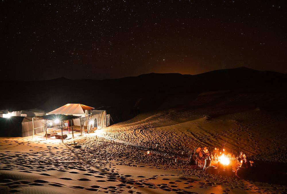 Berber Camp Under the Stars