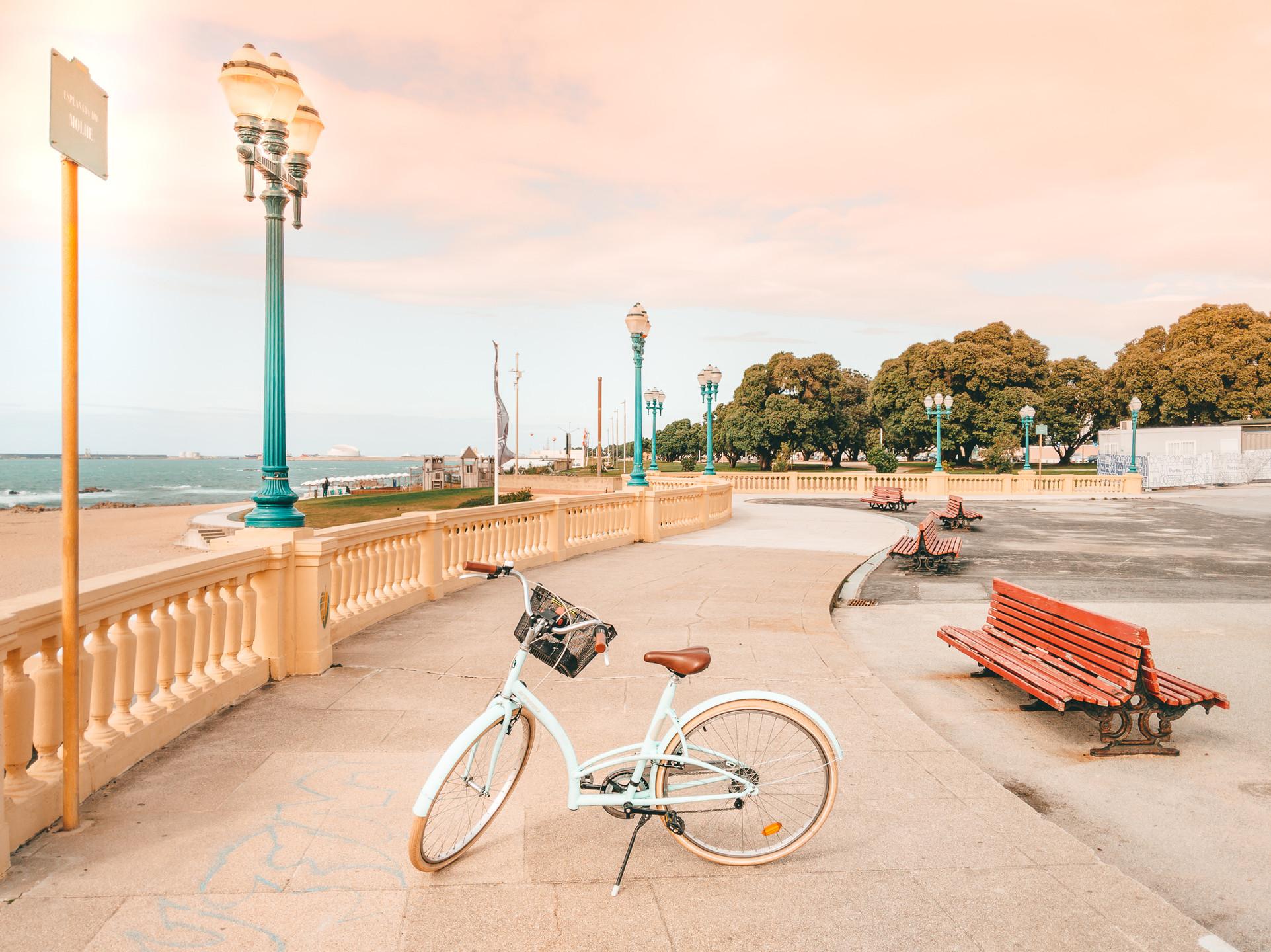 Porto Biking Alongside Beaches