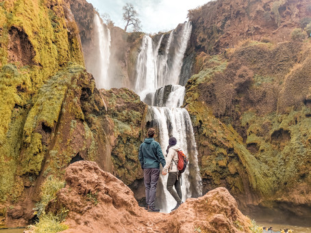 Why Visit Ouzoud Waterfalls and a Merzouga Desert Luxury Camp?