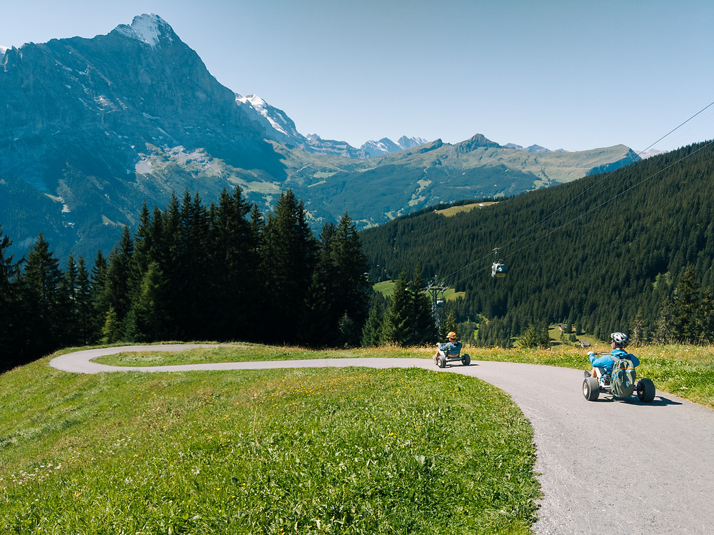 Grindelwald First Moutain Kart