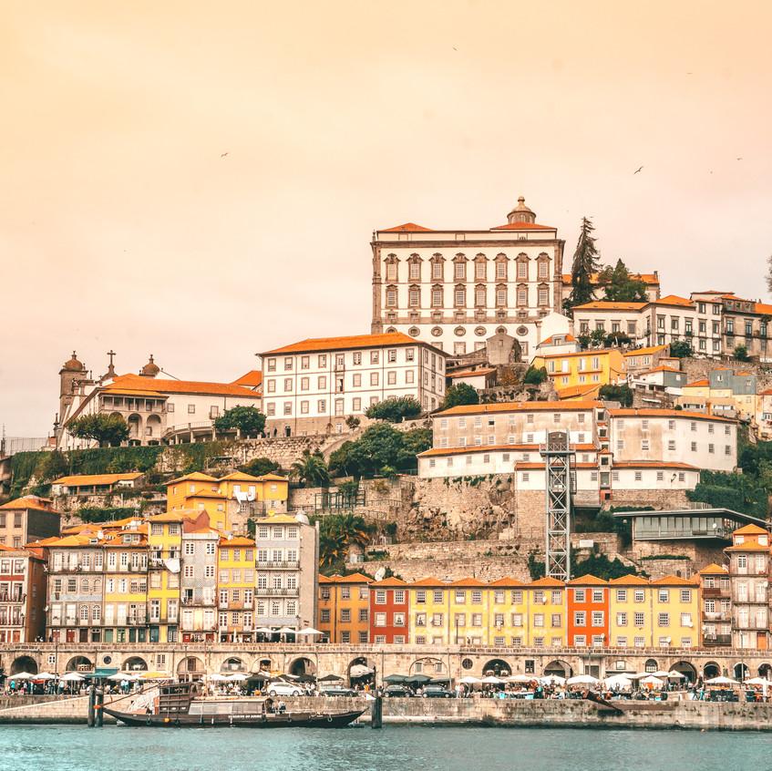 Porto Colorful Cityscape 1