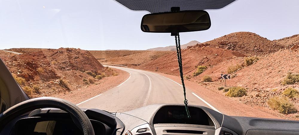 Road Trip through Moroccan Countryside