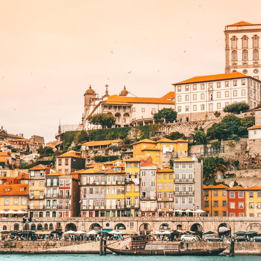 Porto Colorful Cityscape 2