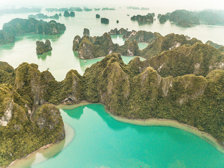 Cruising Halong Bay with L'Azalée