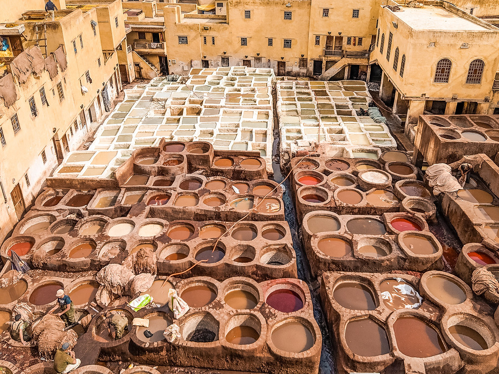 The Fez Chourara Tannery