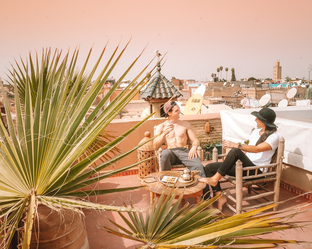Best Rooftop Riad in Marrakech