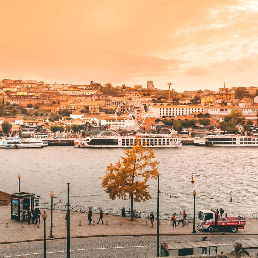 Porto Fall Sunset