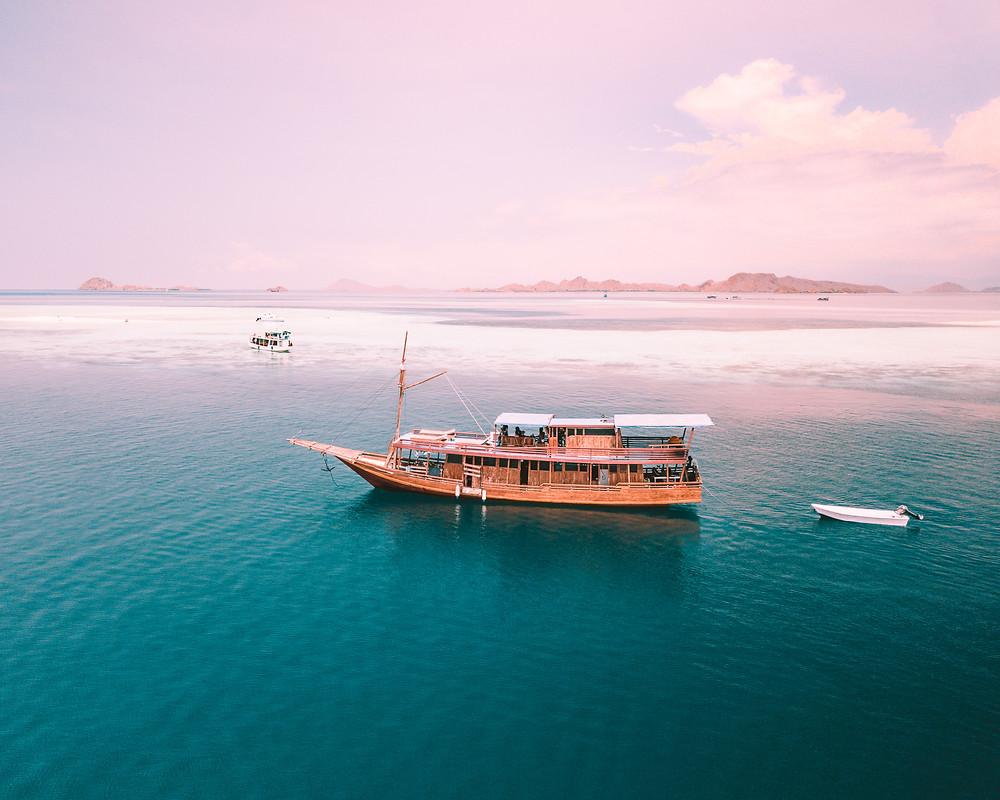 Our boat, Kapal Lahila