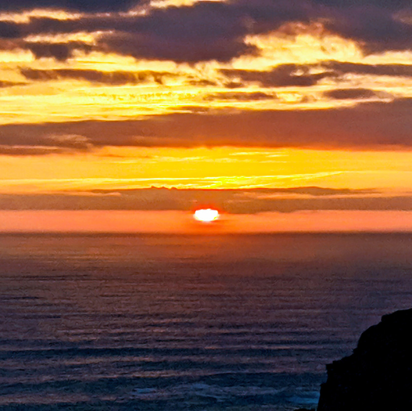 Algarve Coast Sunset
