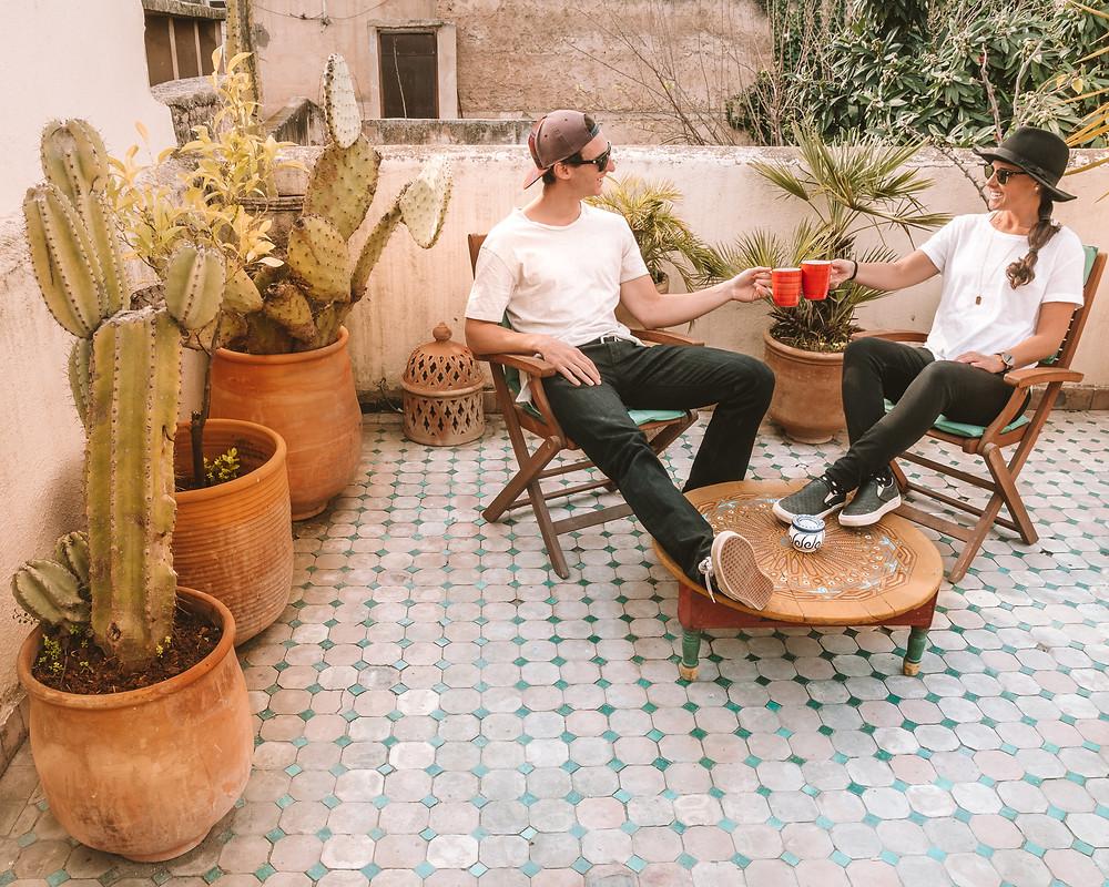 Riad Lune et Soleil Rooftop Terrace