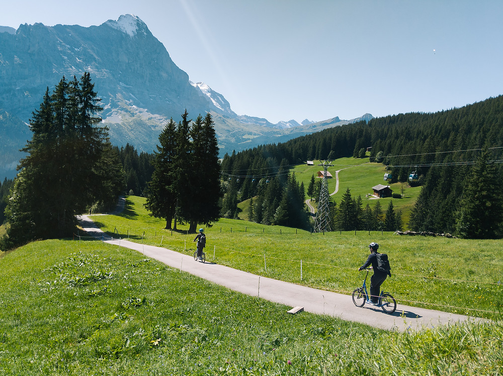 Grindelwald First TrottiBike Scooter