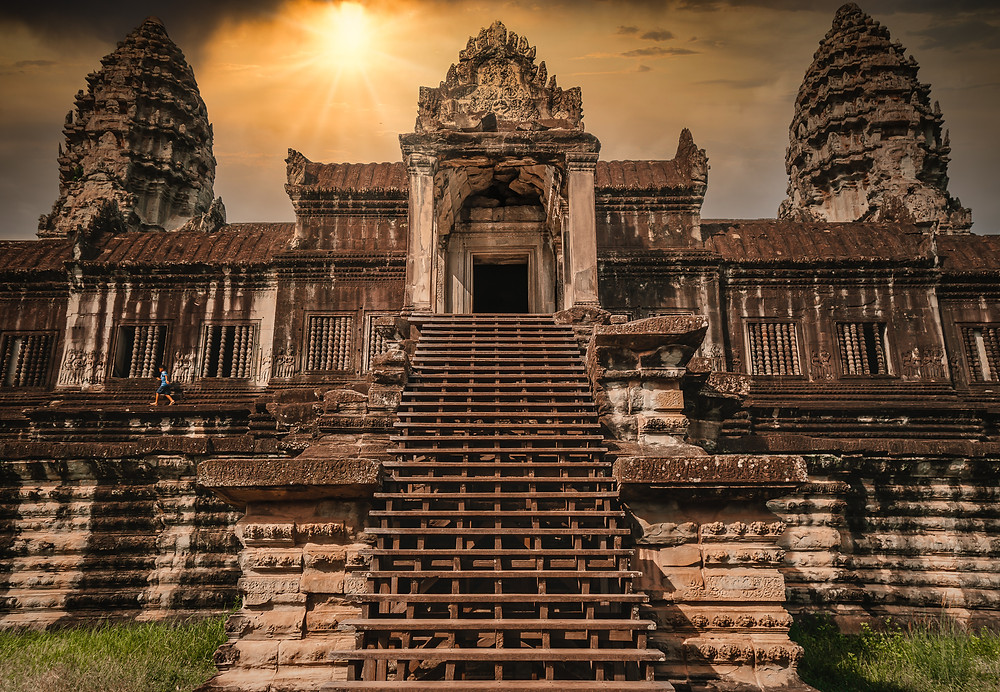Angkor Wat Temple Sunset