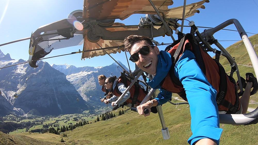 Grindelwald First Glider