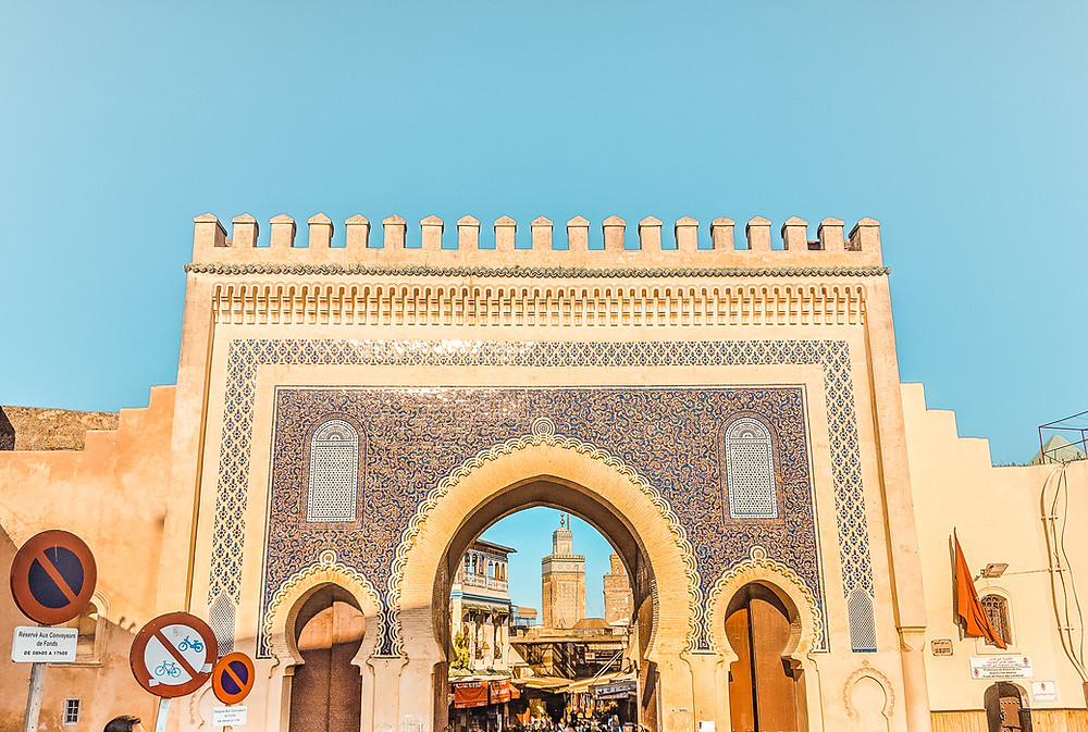 Bab Boujloud (Blue Gate)
