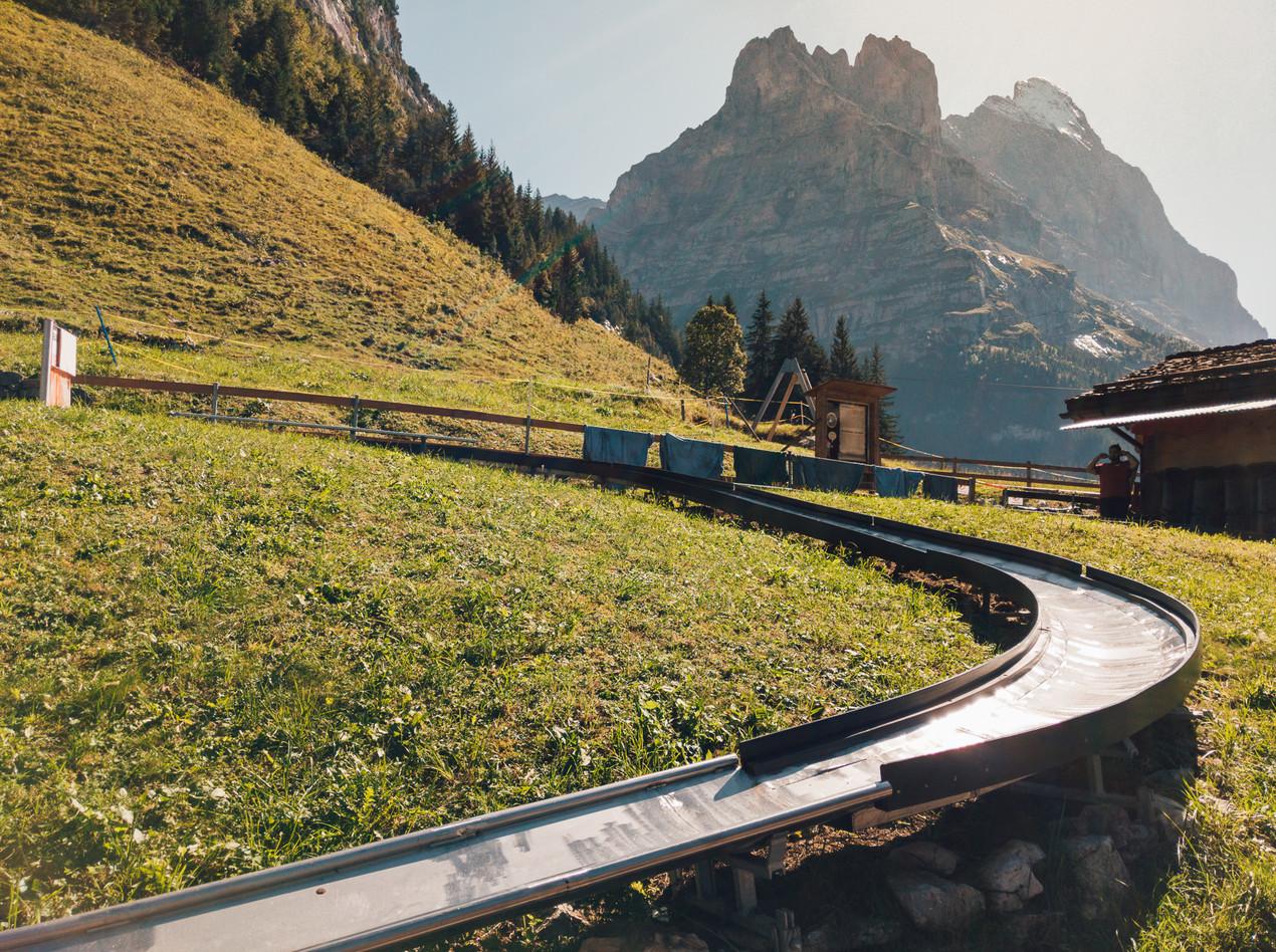Pfingstegg Toboggan Track