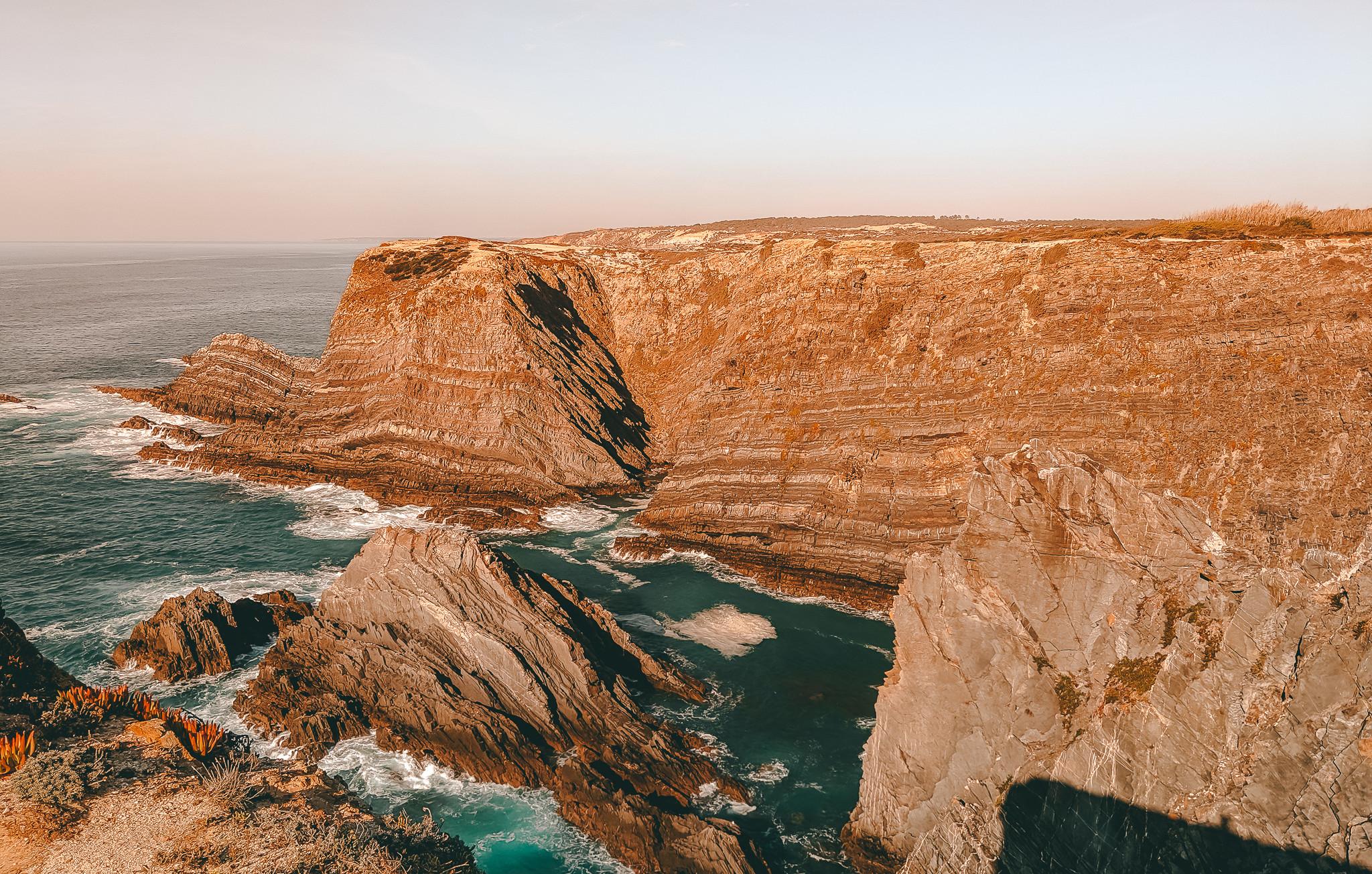 Algarve Coastline at Farol Cabo Sardão