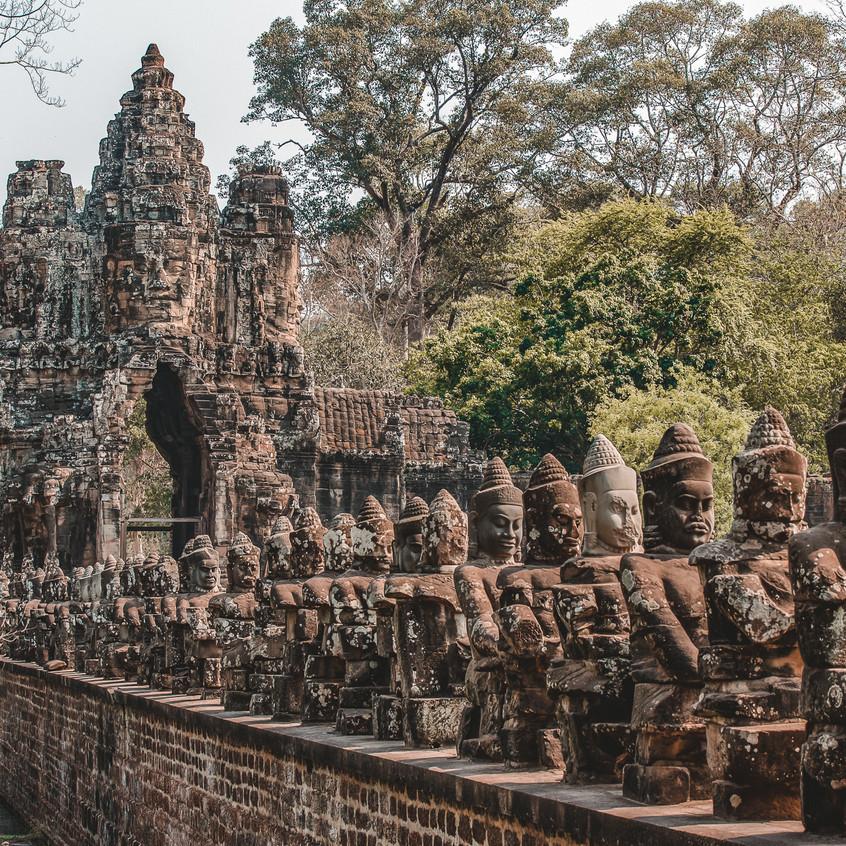 Entrance to Angkor Thom